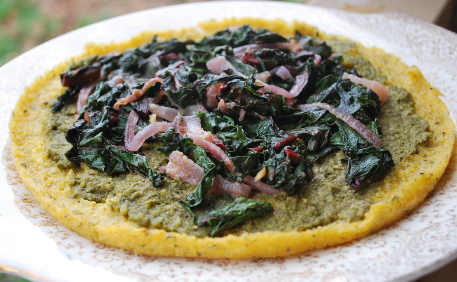 pizzas with kale mini polenta pizzas hearty vegan polenta and kale my ...