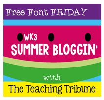 http://www.theteachingtribune.com/2014/06/free-font-friday-3.html