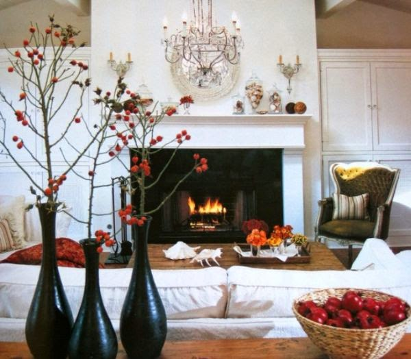 Winter Decorations Interior Design Living Room Picture 03
