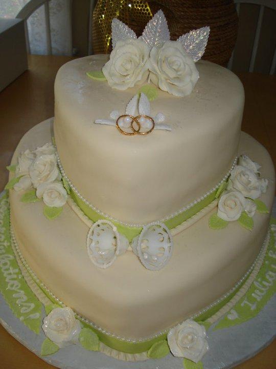 Euro Style Cakes Heart Shaped Wedding Cake