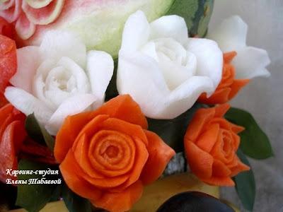 карвинг композиции на заказ оформление торжеств фруктовыми композициями
