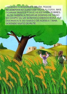 A história bíblica de Rute