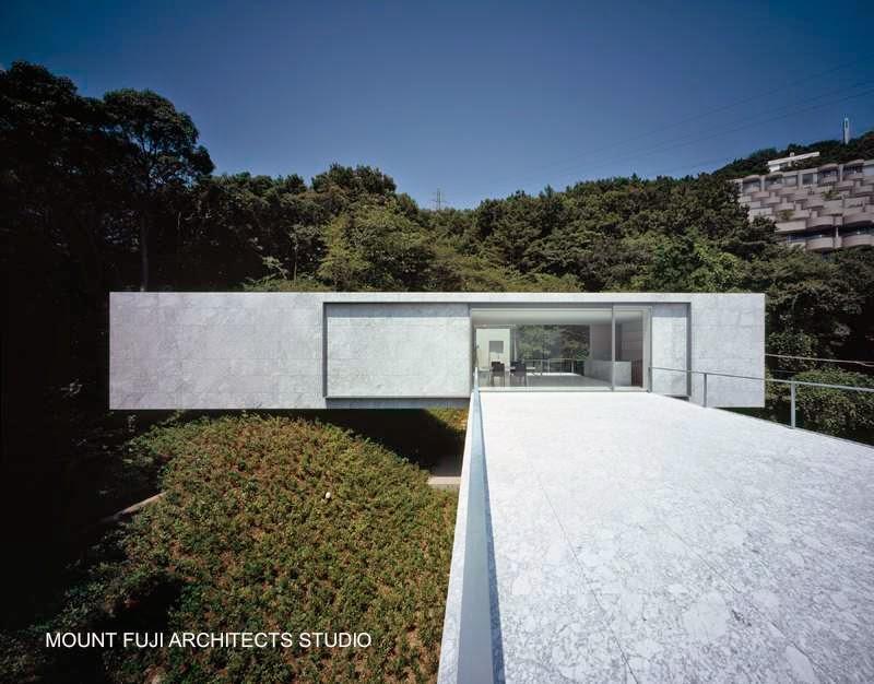 Casa minimalista en Shizucka, Japón 2009