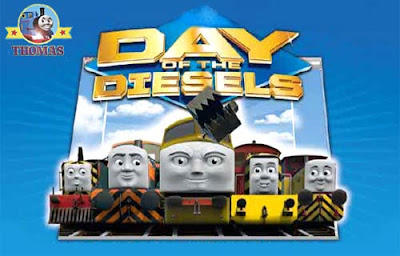 New animated CGI Thomas and friends DVD movie Day of the Diesel 10 Ultimate guide to Sodor trains