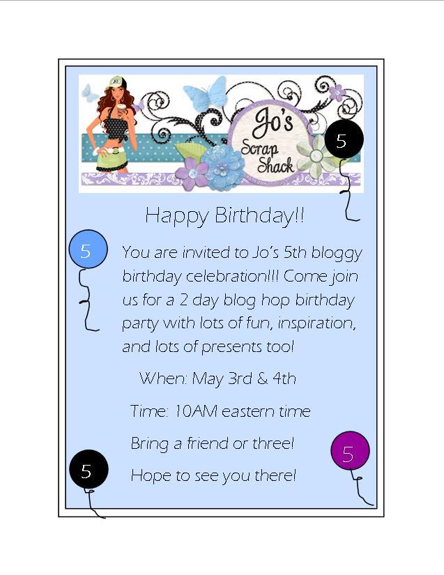 Blog Hop Invite!  Don't miss it!