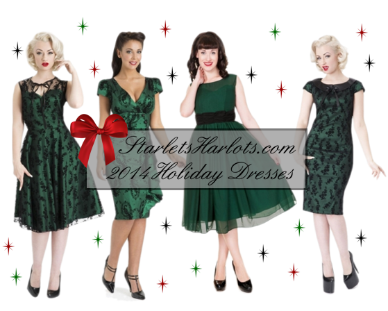 2014 Holiday Plus Size Pin Up Party Dresses | Plus-Size-Pin-Up-Clothing