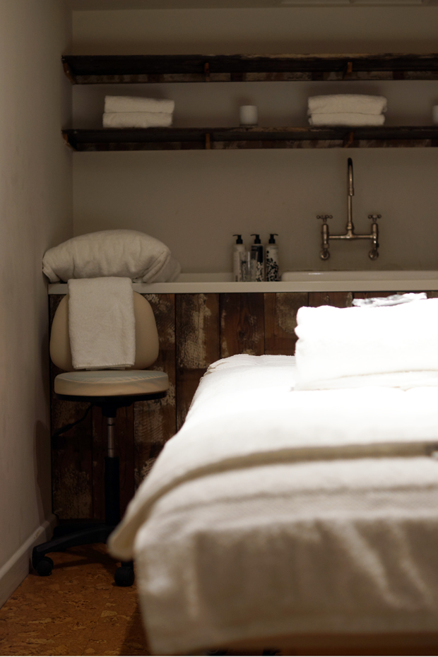 Hello Freckles Cowshed Spa Carnaby Soho London