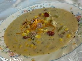 Corn & Smoked Sausage Chowder
