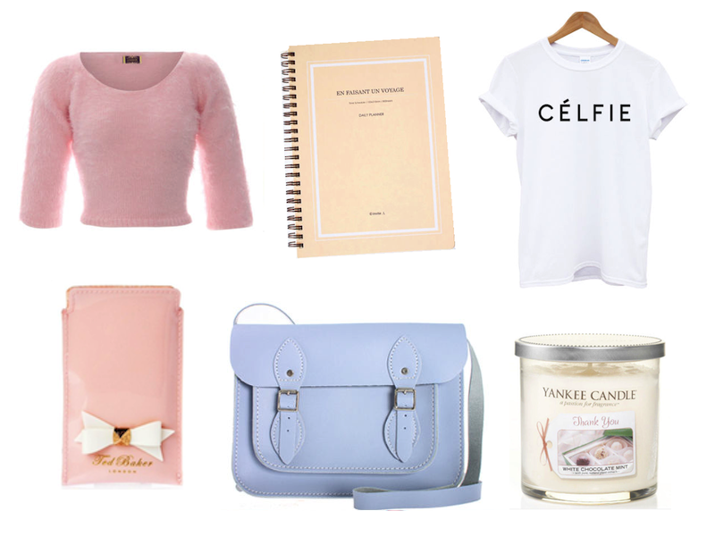 lilac satchel bag cheap ebay wish list post blog review ted baker pink case yankee candle white chocolate mint celfie celine tee shirt diary planner journal eyelash cardigan jumper crop top