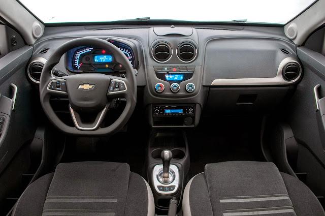 picape Montana Chevrolet 2014 - interior