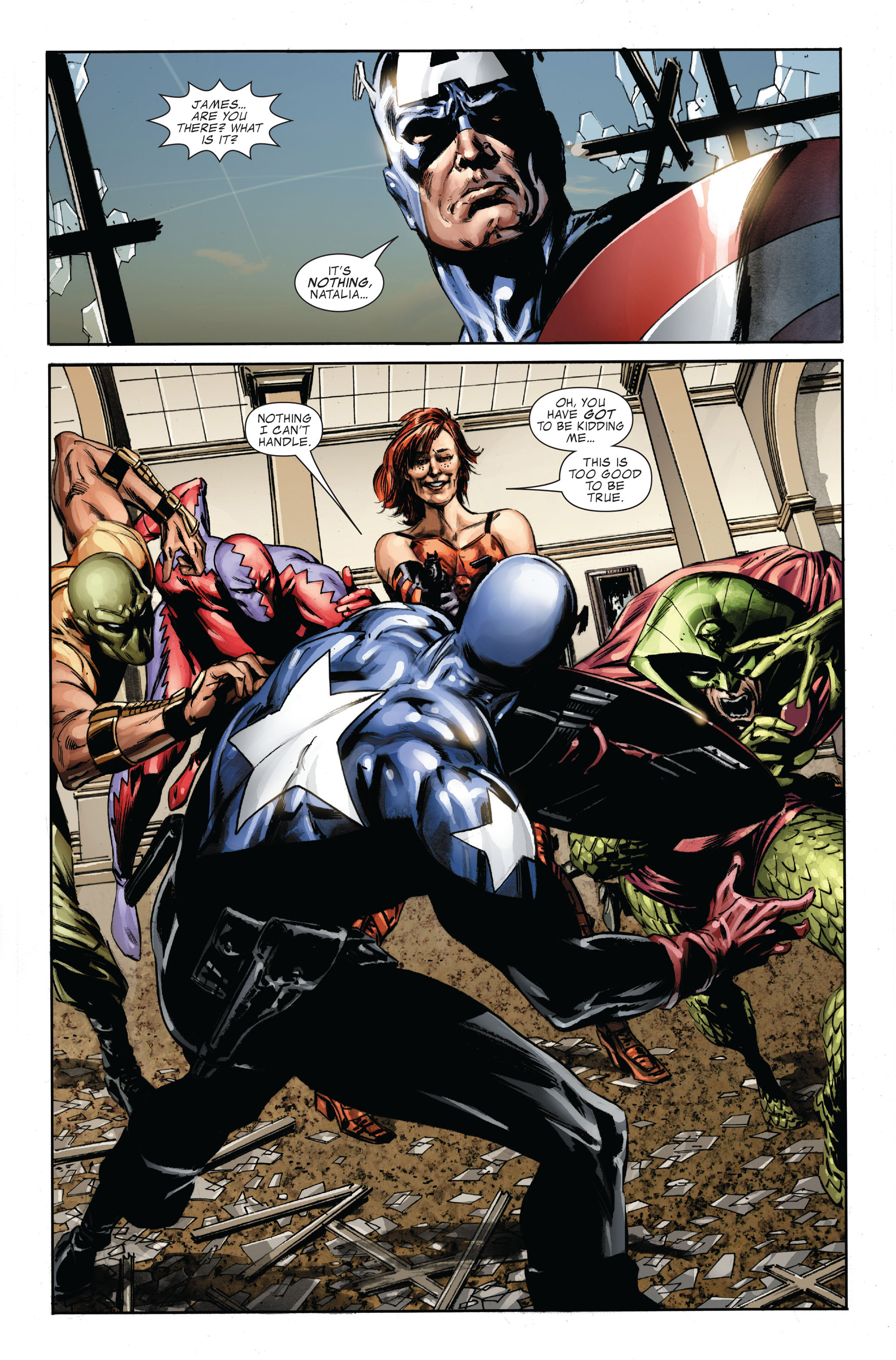Captain America (2005) Issue #35 #35 - English 23