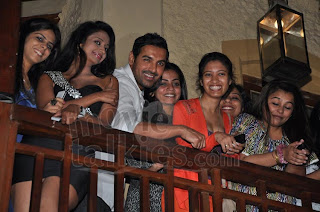 John Abraham Goes On A Dinner Date To Promote 'I, Me Aur Main'