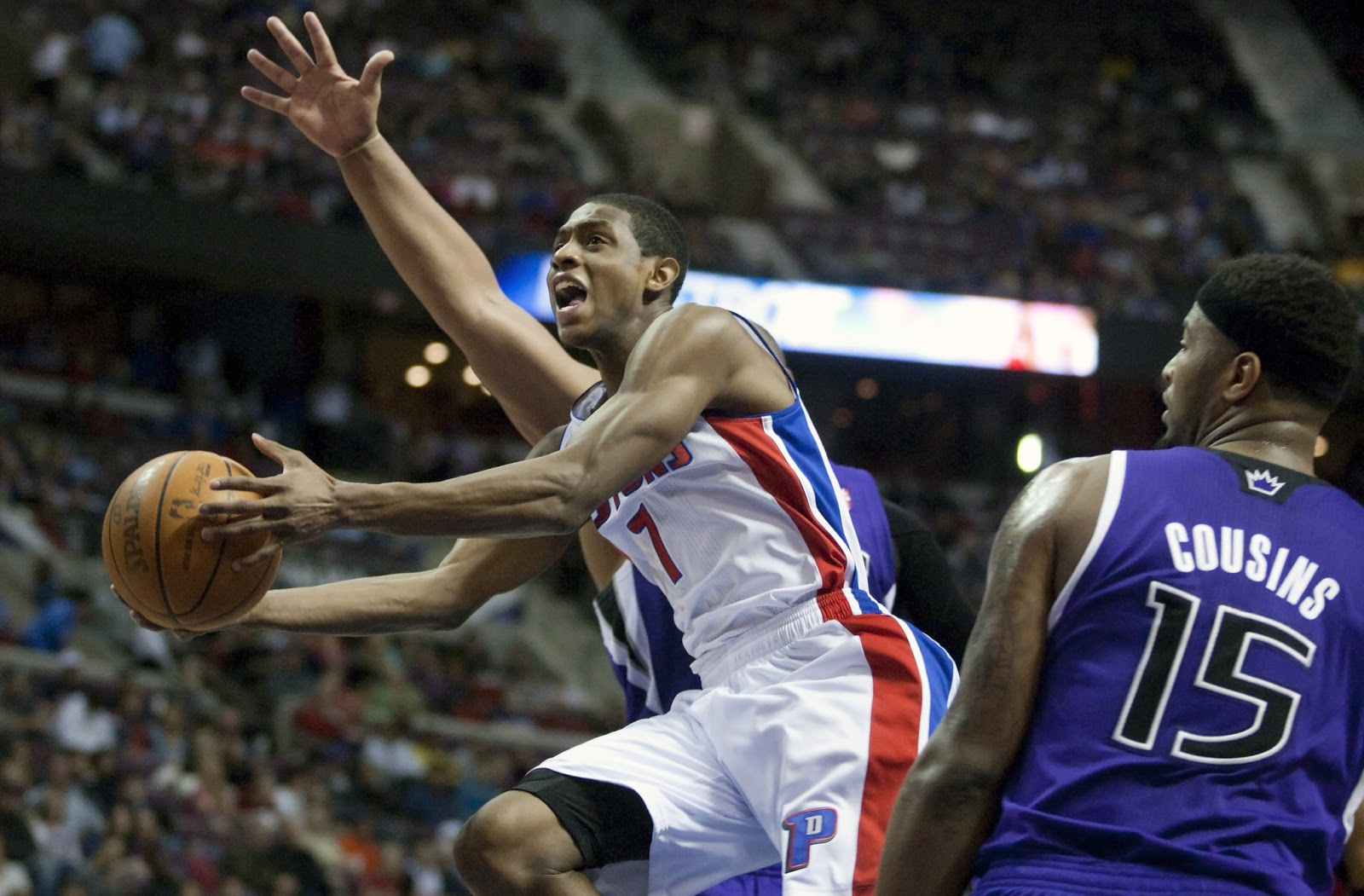 Just Sports & Just Us: Brandon Knight believes he's the 'best man' to be the Pistons' point guard