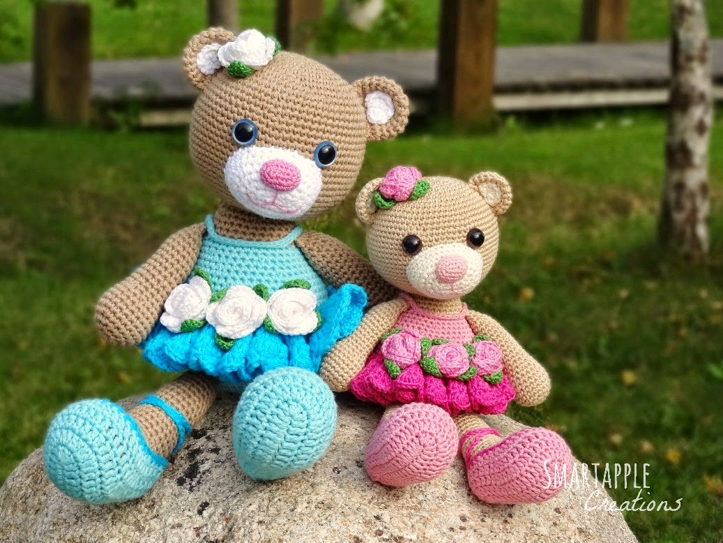 Crochet Pattern Amigurumi Bear : Smartapple Creations - amigurumi and crochet: Bibi the ...
