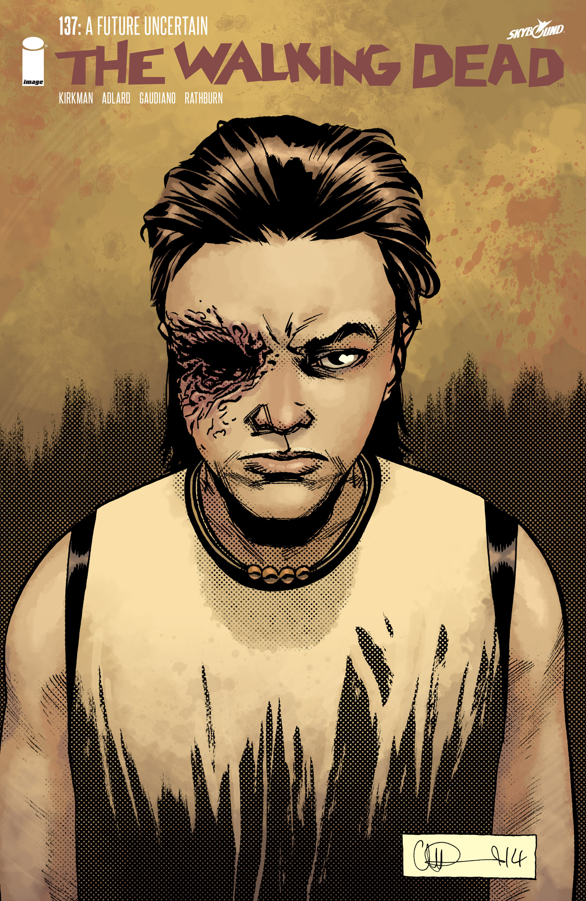 The Walking Dead 137 Page 1