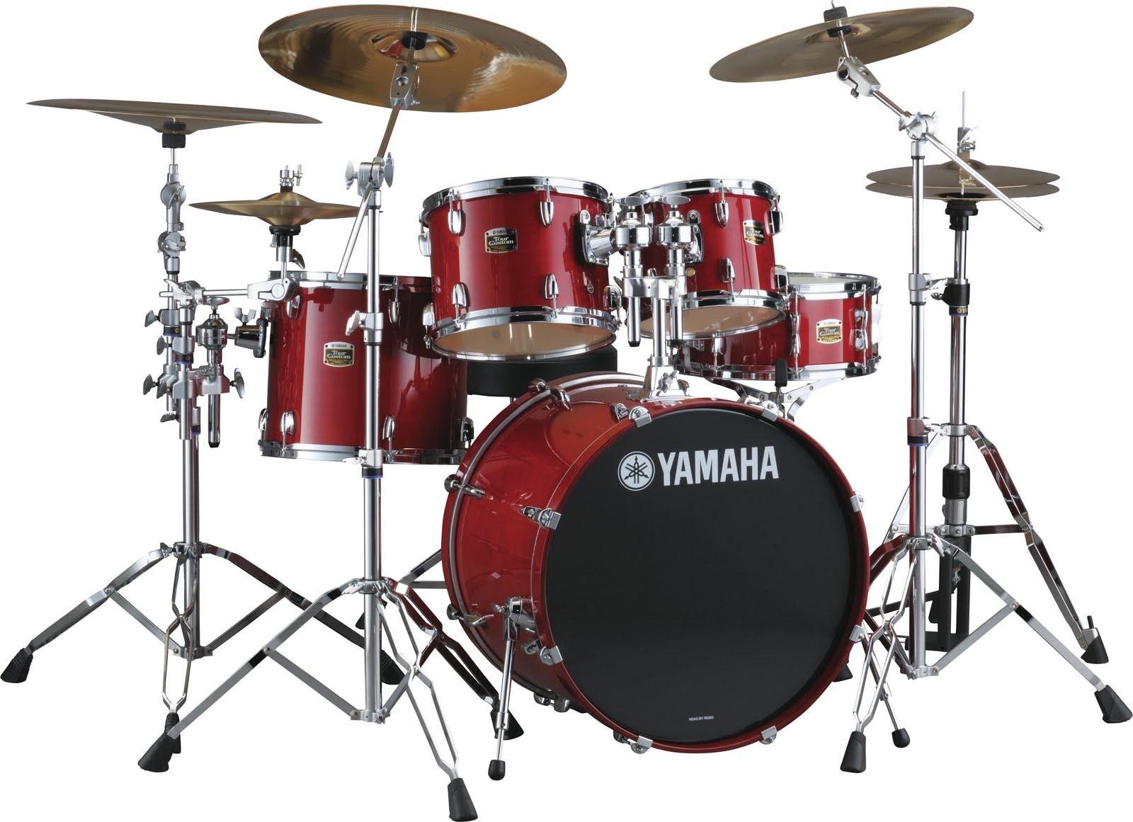 Yamaha Tour Custom Series Drum Set