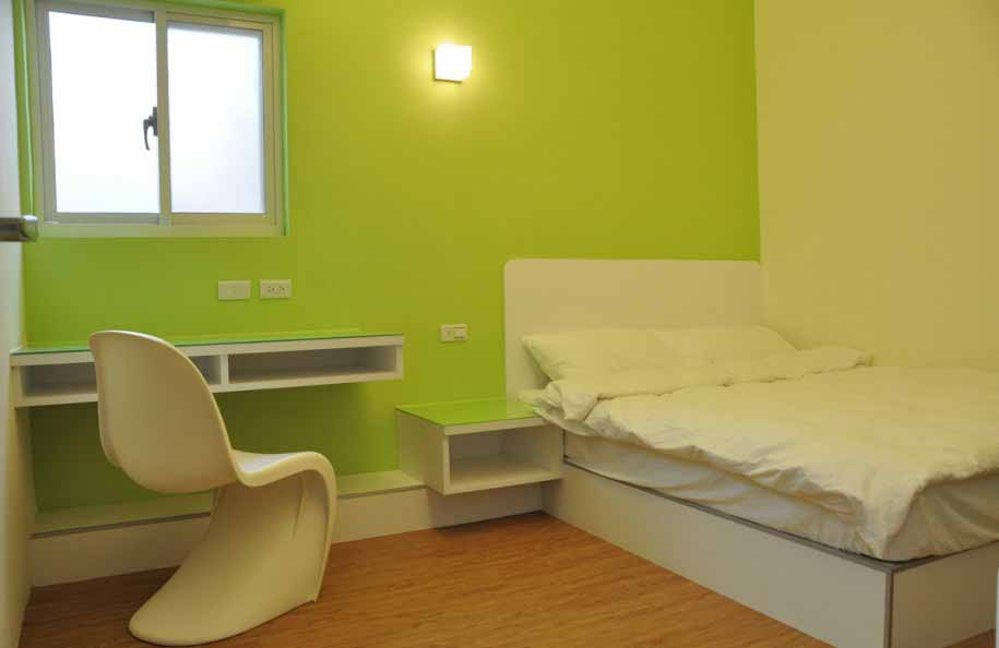 interior design bedroom color - Green Bedroom Design