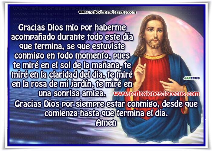 Reflexiones Cristianas, Buenas noches, Mensajes de buenas noches, Postales Oración, Oraciones, Oración de agradecimiento,