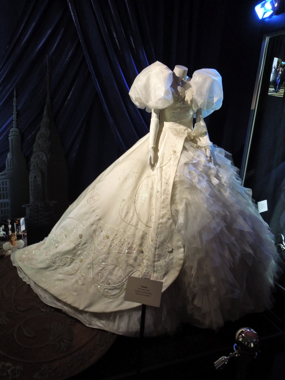 Giselle Fairytale Gown Worn By Amy Adams In Enchanted On Display