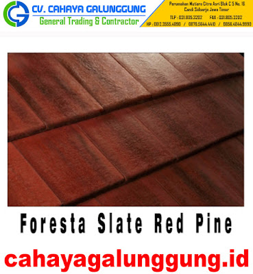 Genteng Beton Monier Foresta Slate