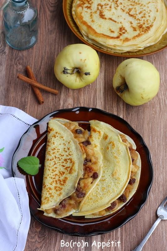 Przepis na naleśniki z jabłkami i cynamonem