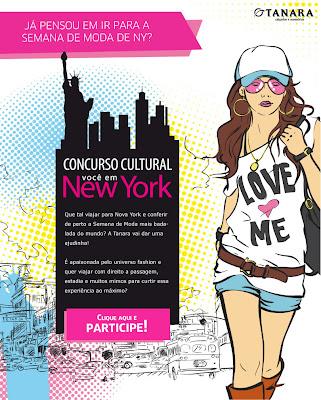 """Concurso Cultural  """"VOCÊ EM NEW YORK"""""""