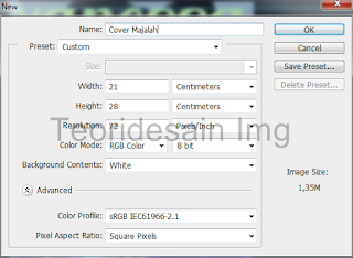 Cara Membuat Cover Majalah Menggunakan Adobe Photoshop 1