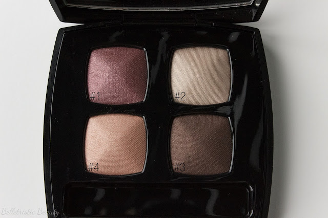 Chanel Seduction Quad Les 4 Ombres Quadra Eye Shadow, Jeux de Regards Collection in outdoor lighting