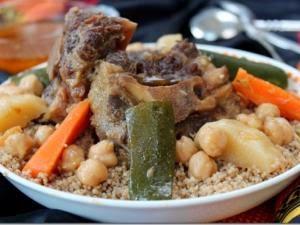 Recette couscous marocain aux legumes