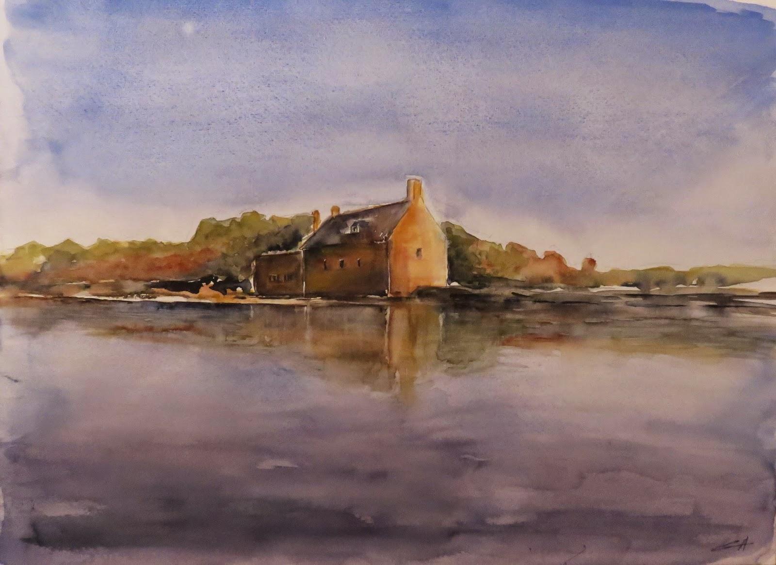 Le moulin à marées de Pen Castel