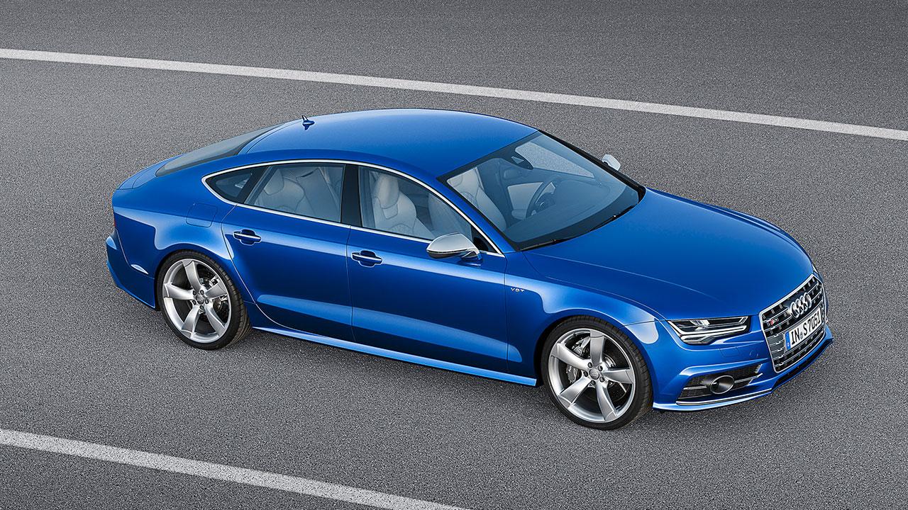 Audi S7 Sportback side