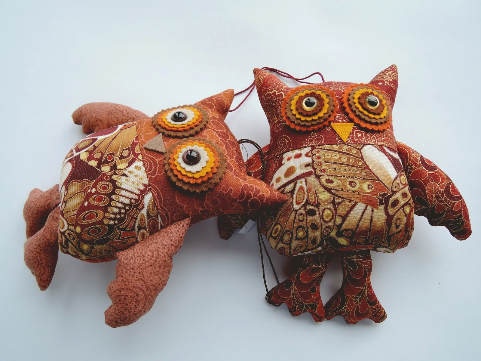 совы игрушки коричневого цвета