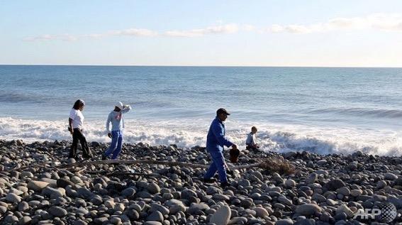 Pintu Pesawat MH370 Ditemui di Pulau Reunion