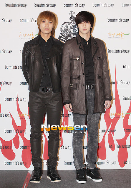 MBLAQ Mir and Thunder Seoul Fashion Week 121022