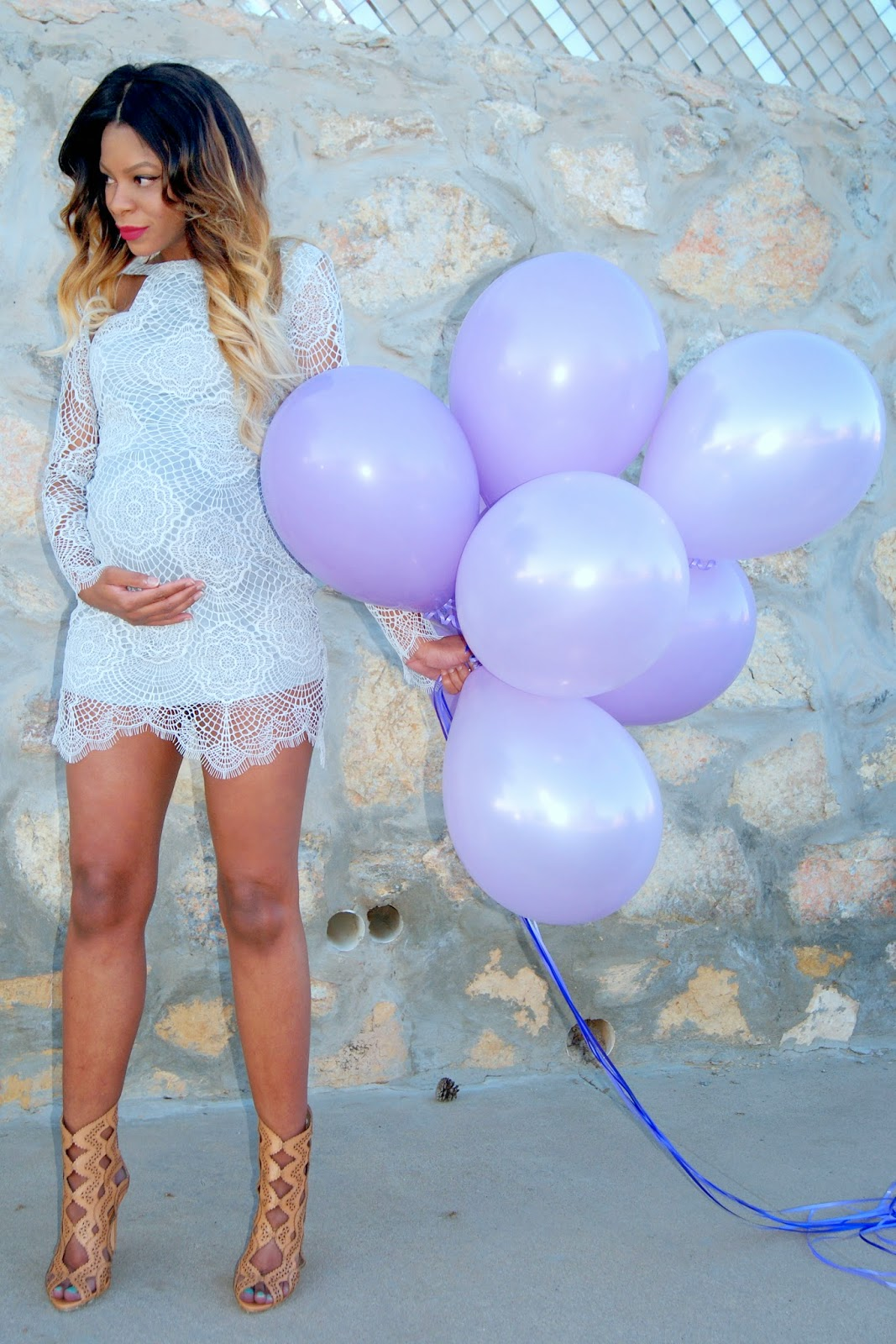 for love & lemons dress, lace dress, allthingsslim, ombre hair, birthday dress