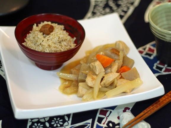 Recipe : Umeboshi Chicken