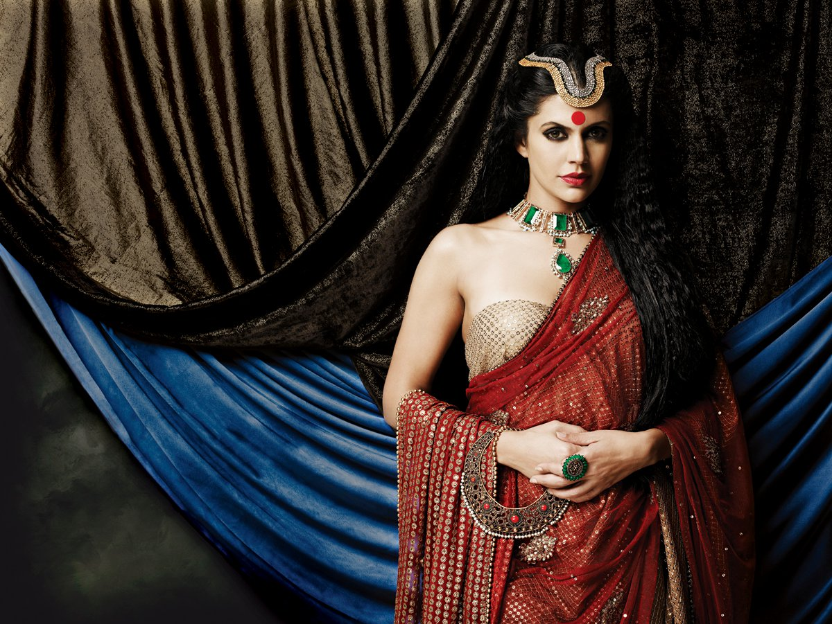 Mandira Bedi Photos for Gaja Jewellery Ad