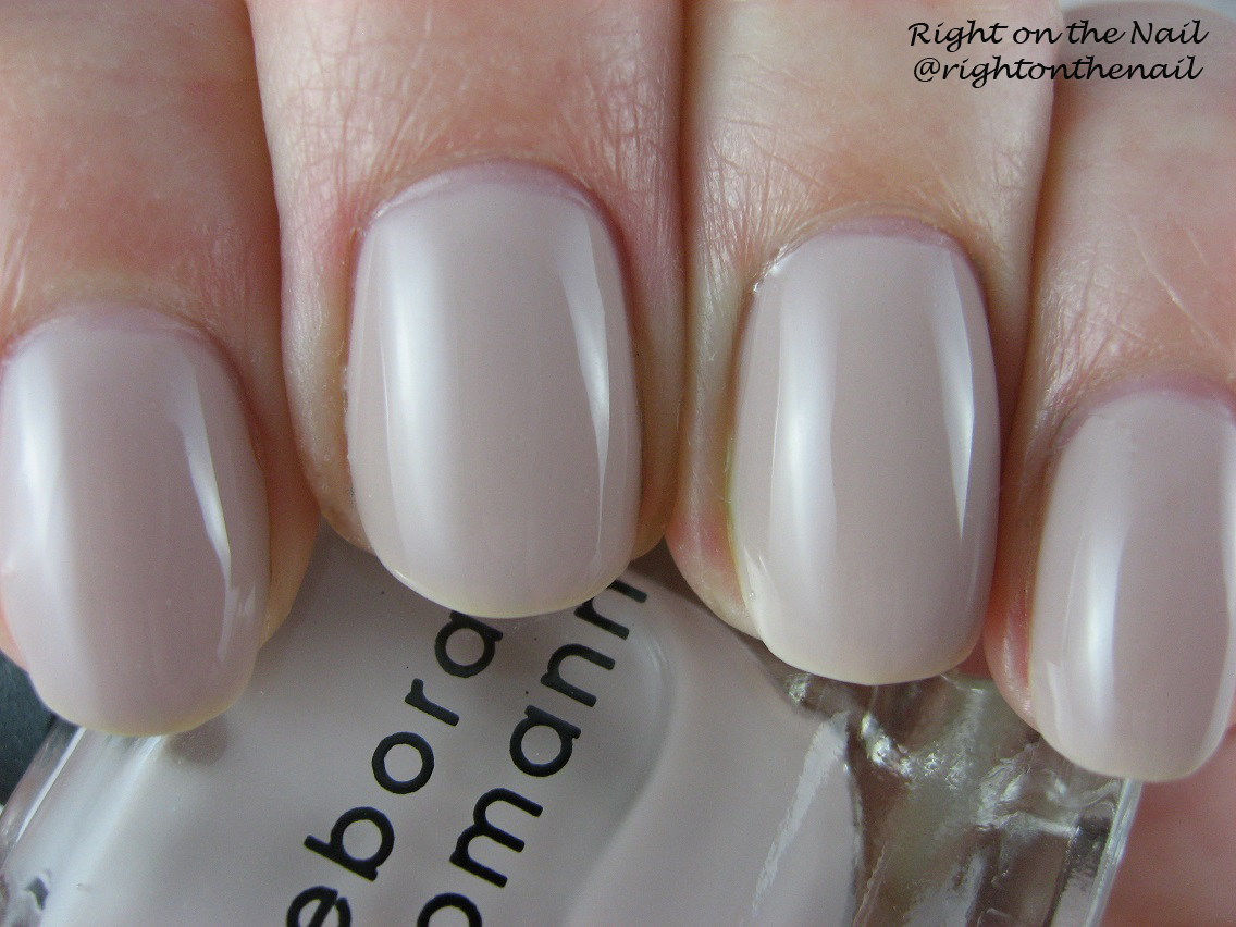 Right on the Nail: Right on the Nail ~ Deborah Lippmann Swatches and ...