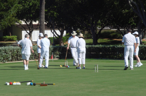 south coast of australia -croquet club- australia