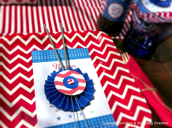 July 4th crafts, july 4th ideas, sparklers