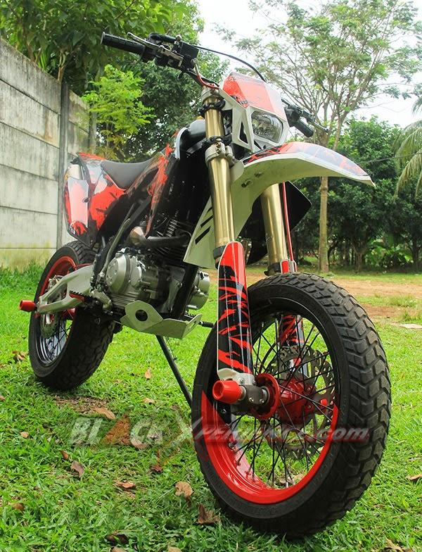 Modifikasi Kawasaki KLX150
