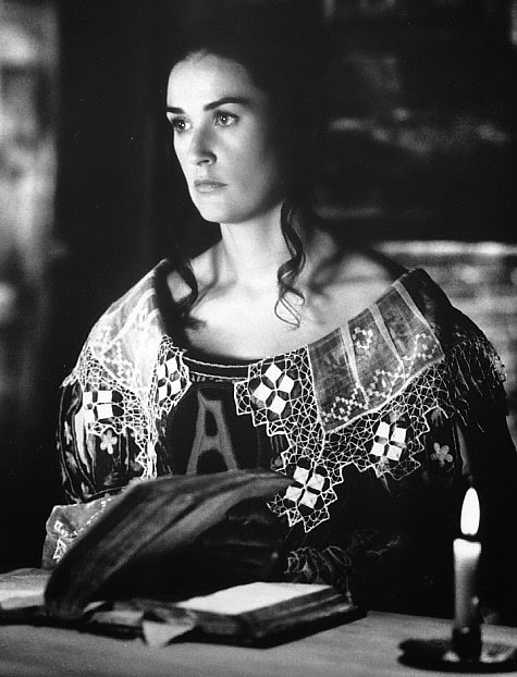 Demi Moore in 'The Scarlet Letter'