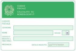 Codice fiscale online- Come si calcola?