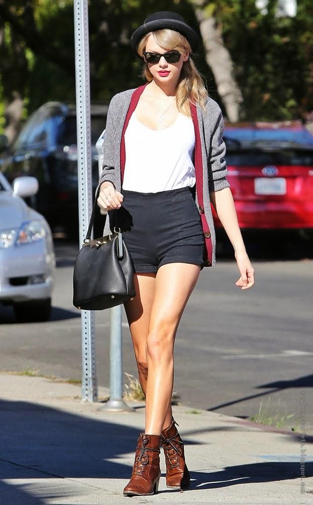 Street Style Taylor Swift Stylish Starlets