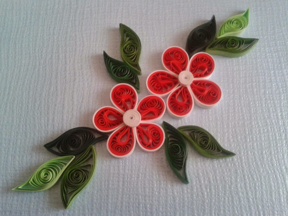 Flowers quilling patterns many flowers for Quilling patterns for beginners