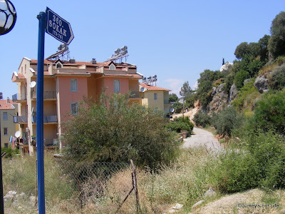 The Road To Sundial Hotel, Fethiye