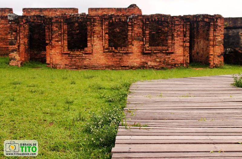 Prédio no Revelim da Fortaleza de São José de Macapá, no Amapá