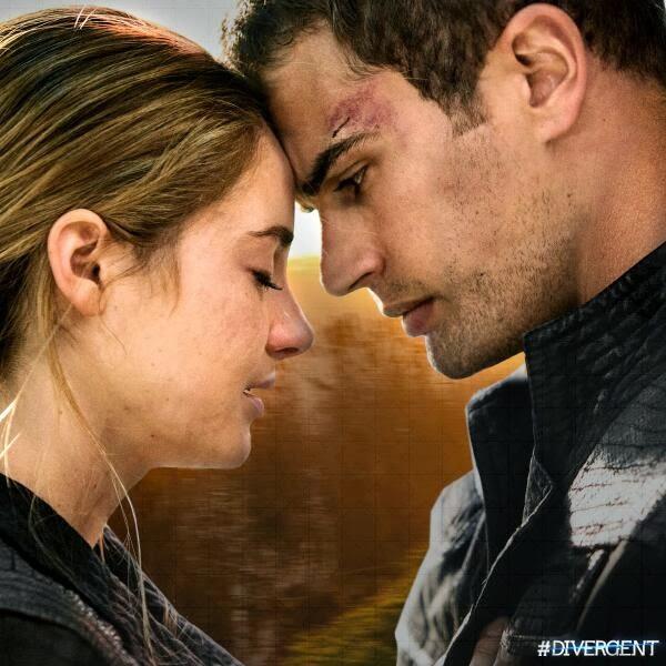 The Divergent Life: New DIVERGENT Movie Still: TRIS & FOUR