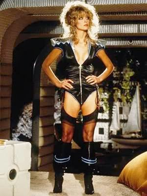 Farrah Fawcett's sexy outfit not used in Saturn 3 (1980)