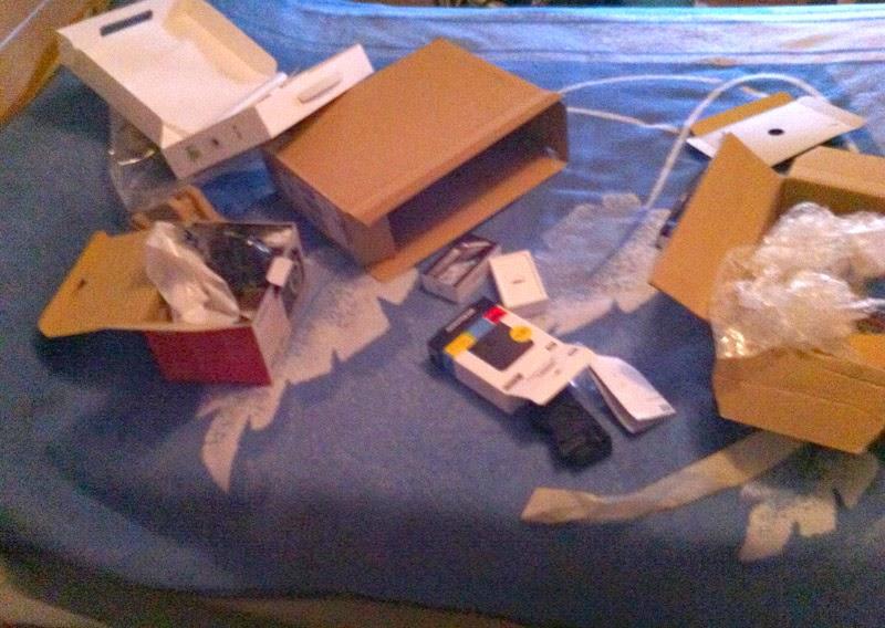 cajas desordenadas